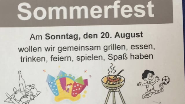 Sommerfest 2017 mit Lehrte hilft - Buffet
