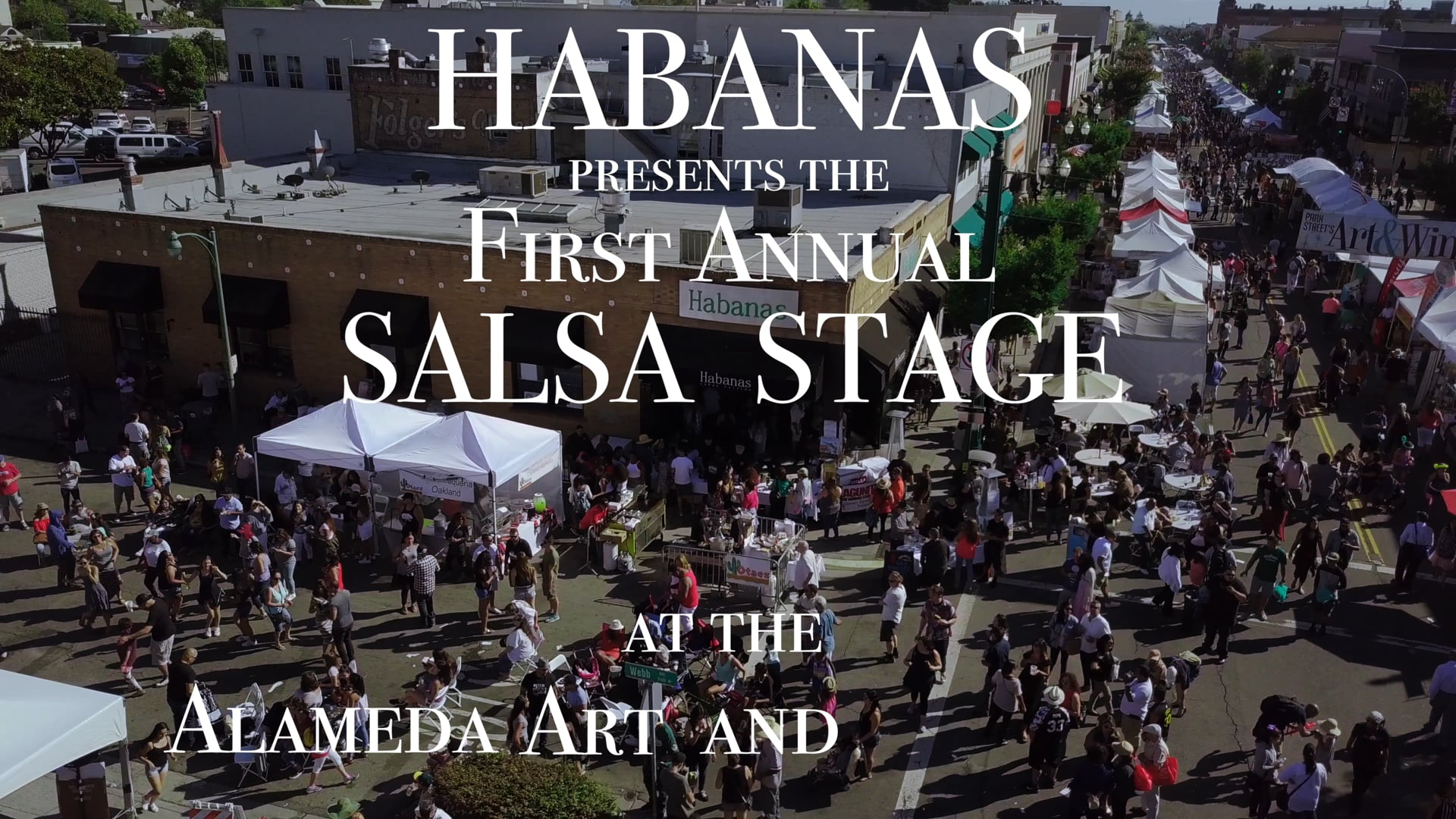 Habanas Cuban Cuisine | Salsa Stage Recap