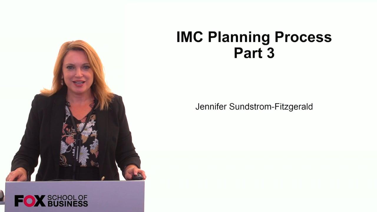59855IMC Planning Process Pt 3