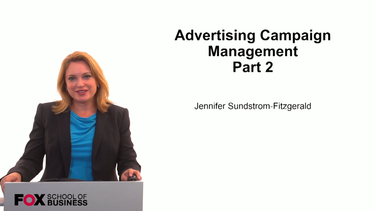 59848Advertising Campaign Management Part 2