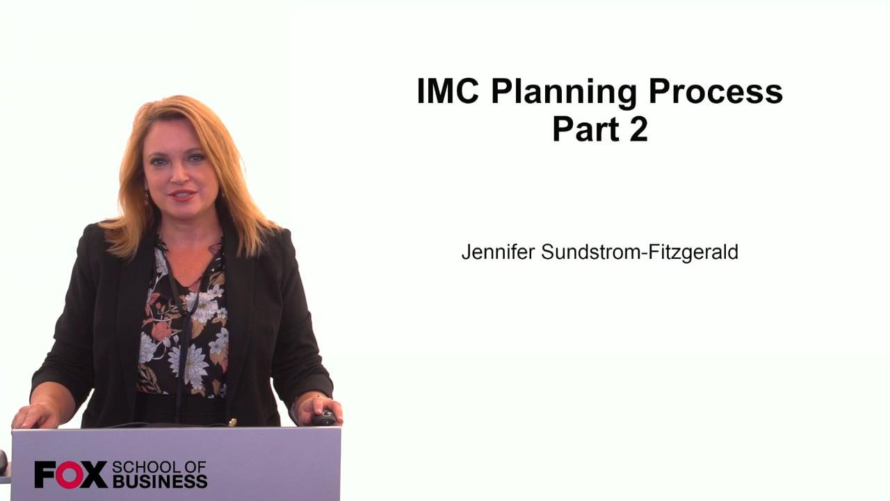 59854IMC Planning Process Pt 2