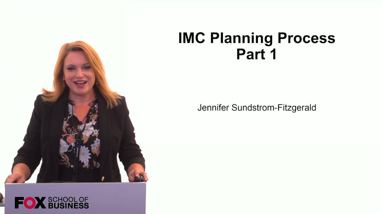 59853IMC Planning Process Pt 1