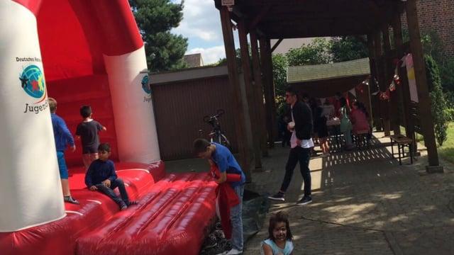 Sommerfest 2017 mit Lehrte hilft - spielen