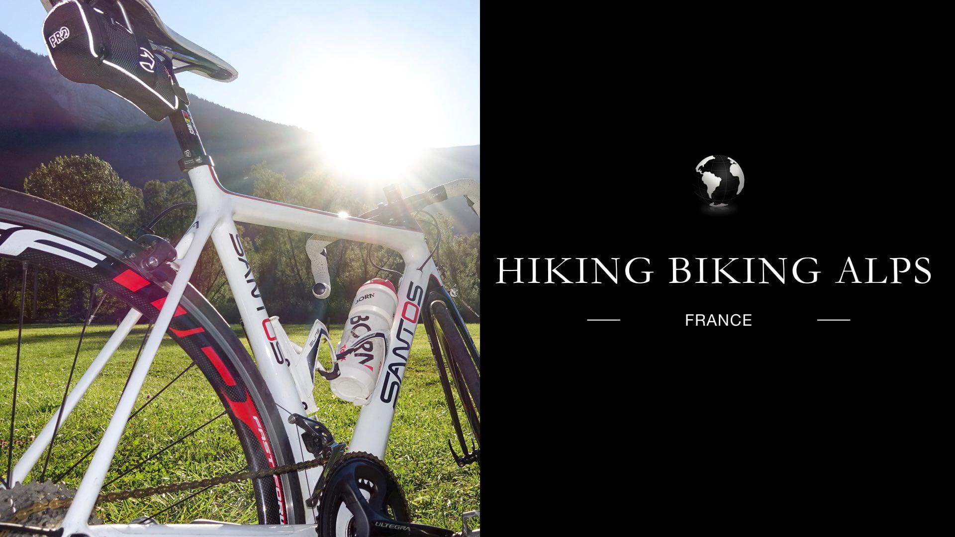 201708 Hiking and Biking Alps