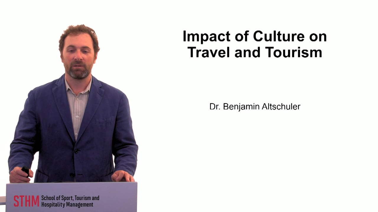 59878Impact of Culture on Travel and Tourism