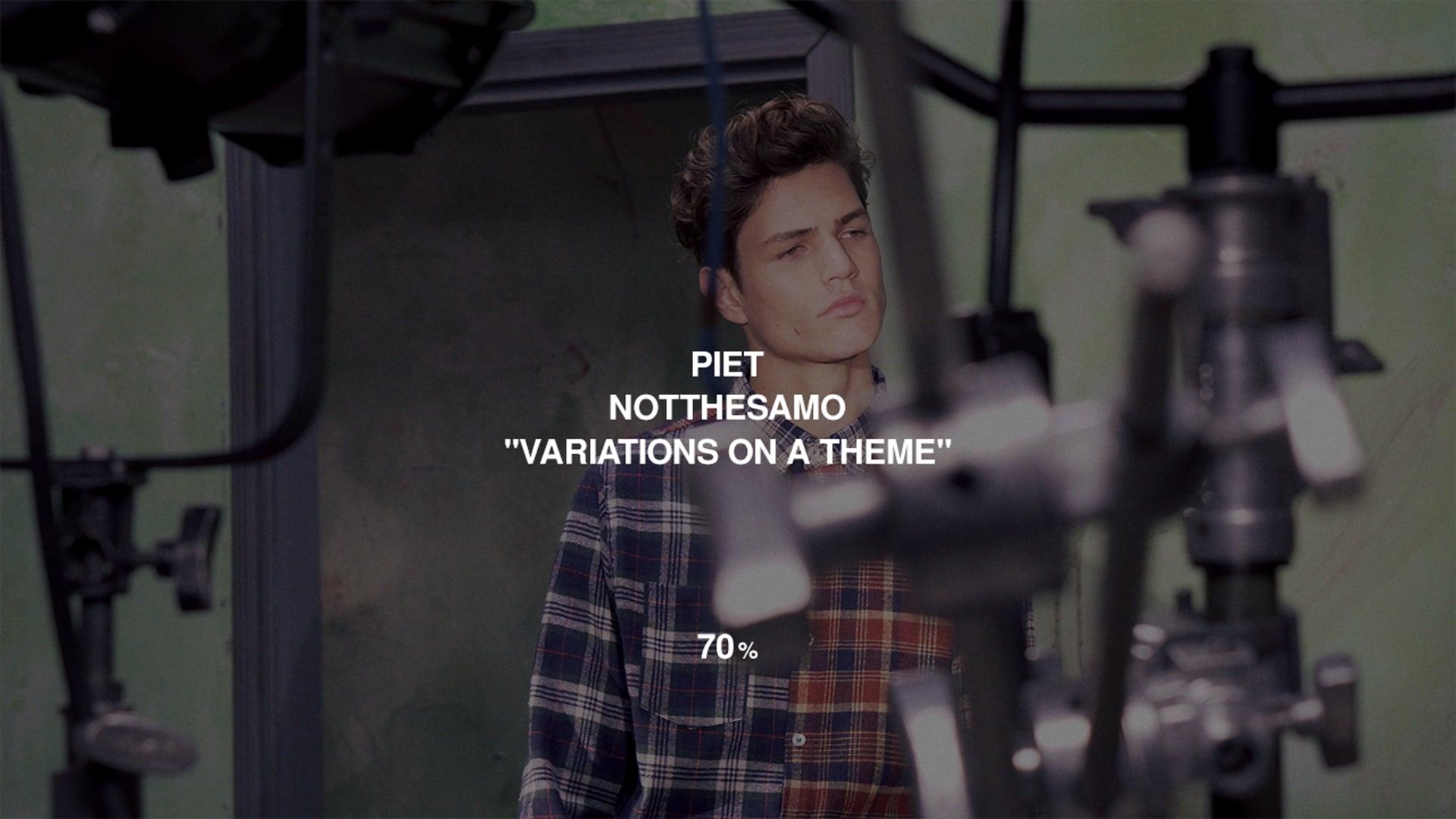 "NOTTHESAMO x PIET - ""70%"""