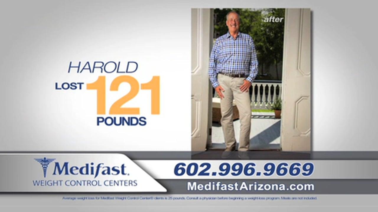 Harrold Lost 121 lbs at Medifast