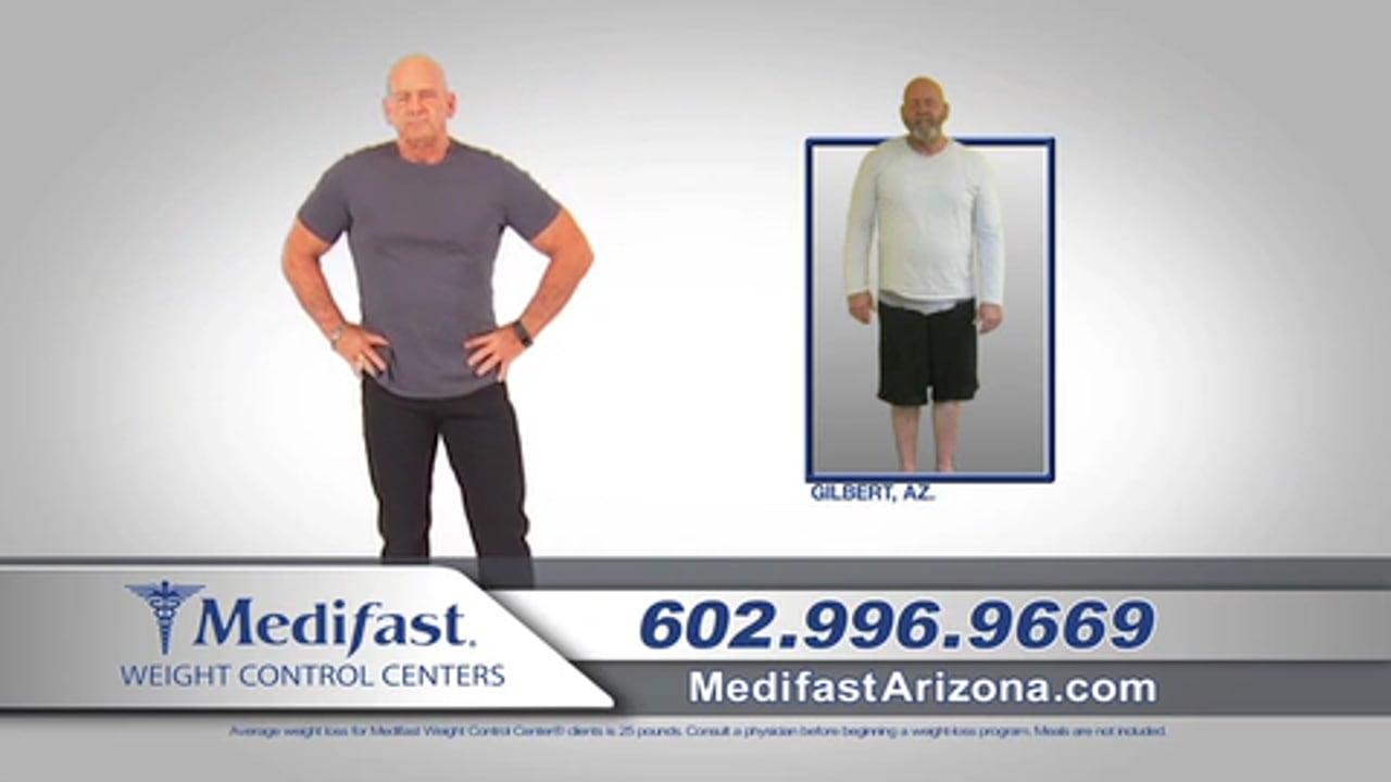 Ronnie Lost 52 lbs at the Medifast Chandler Location