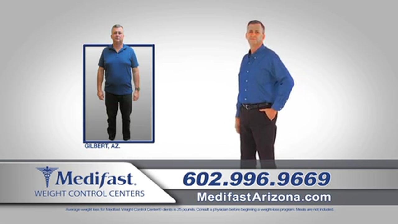 Scott Lost 61 lbs at the Gilbert AZ Medifast Center