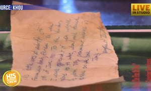 Georgia Man Gets Message in a Bottle Back After 36 Years