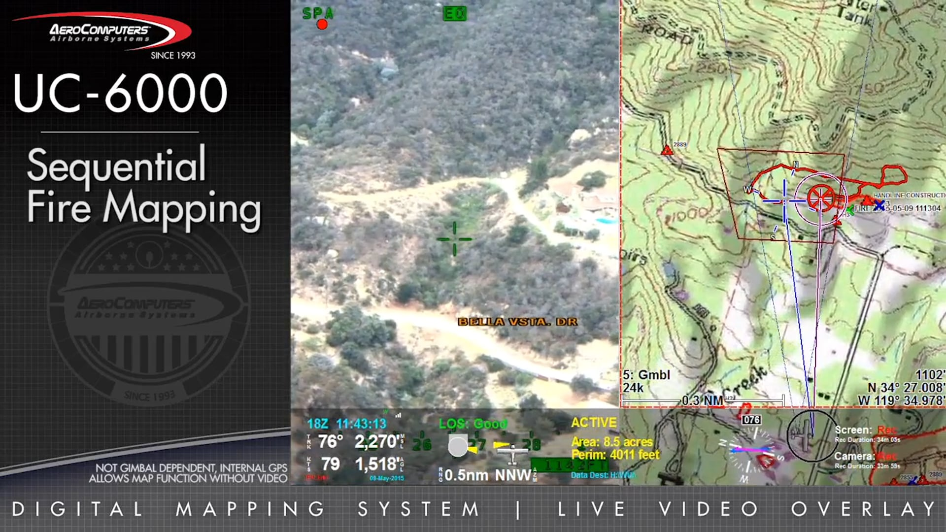 UC-6000 Fire and Incident Mapping