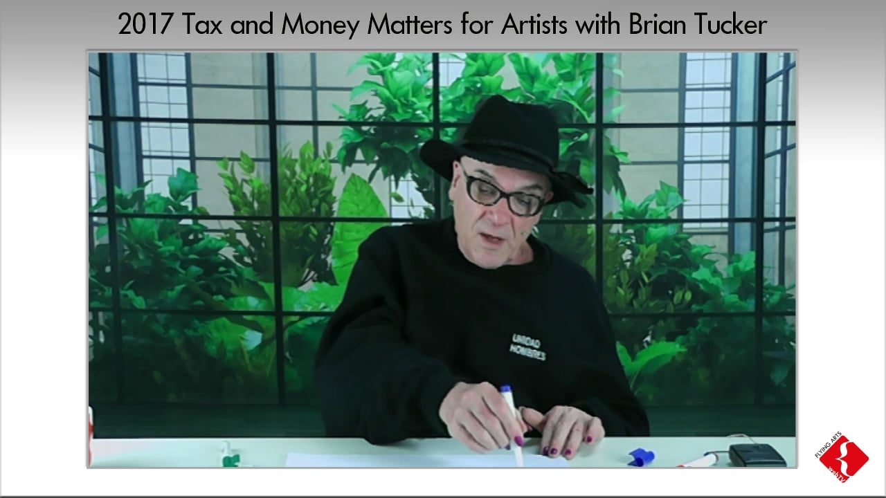 Tax and Money Matters for Artist 2017
