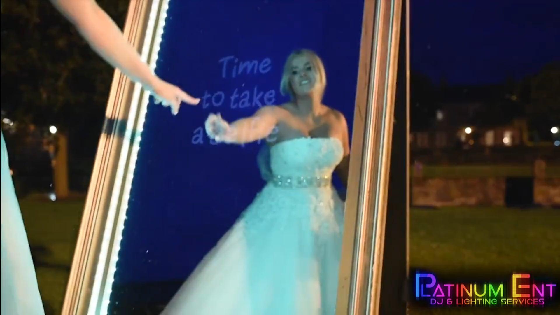 Platinum Ent  Mirror Photo Booth