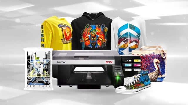 Print More Than Tees with GTX!