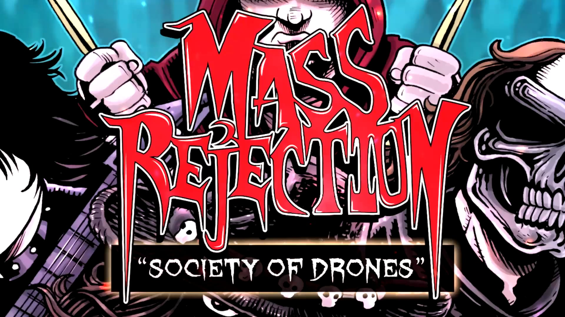 """Mass Rejection """"Society of Drones"""" Stream Preview"""