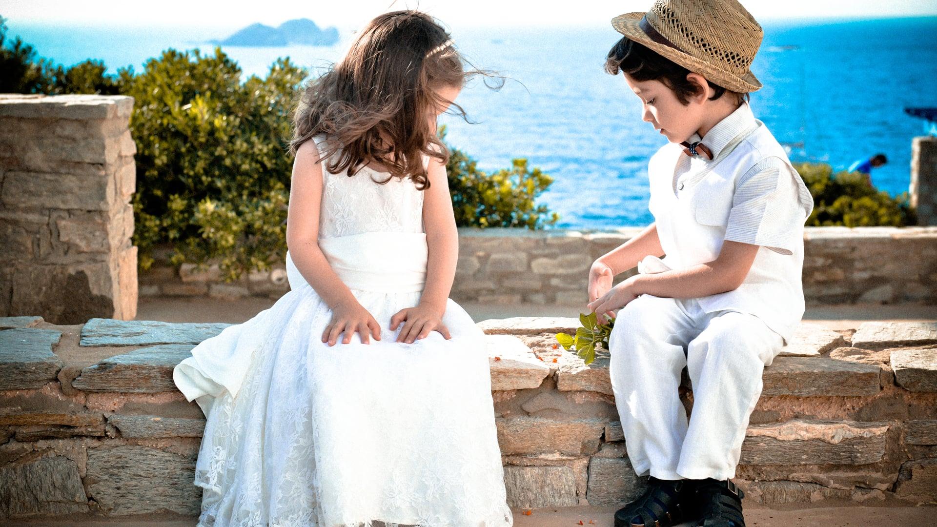 The Greek Island Destination Wedding Experience. A video that ROCKS, an EPIC wedding in Tzia (Kea) island