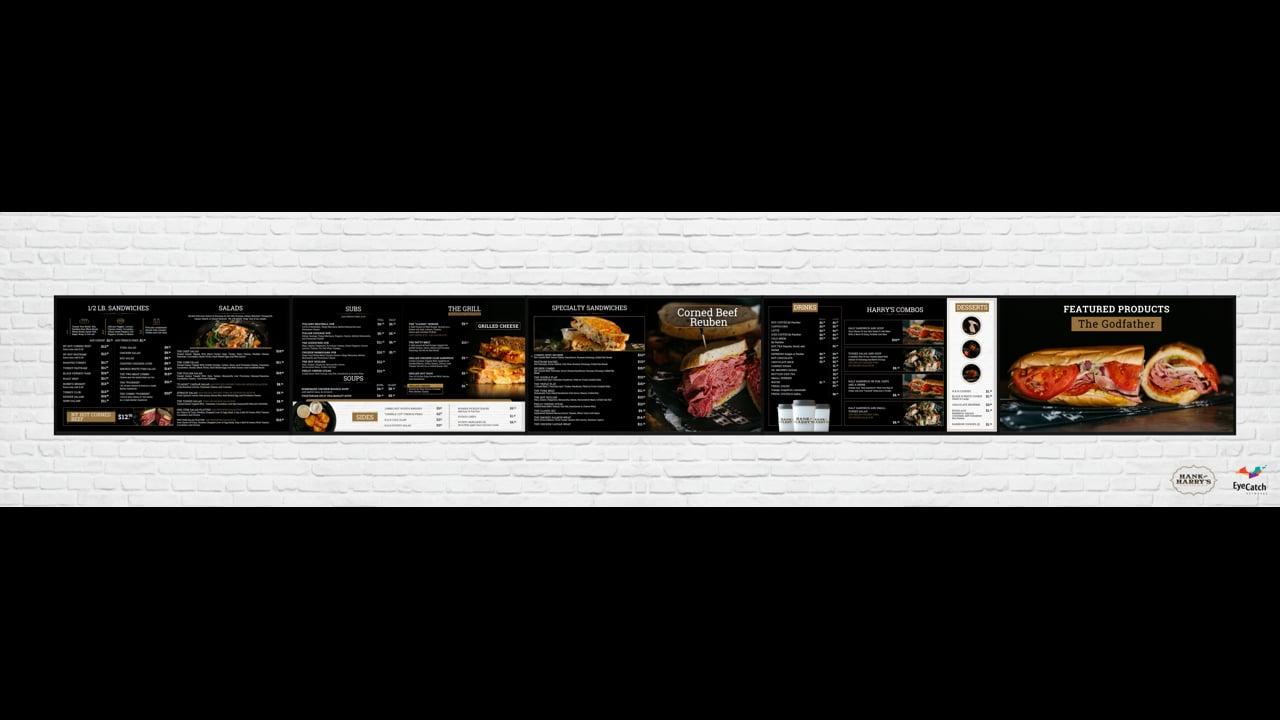 Hank & Harry's Digital Menu Boards by EyeCatch