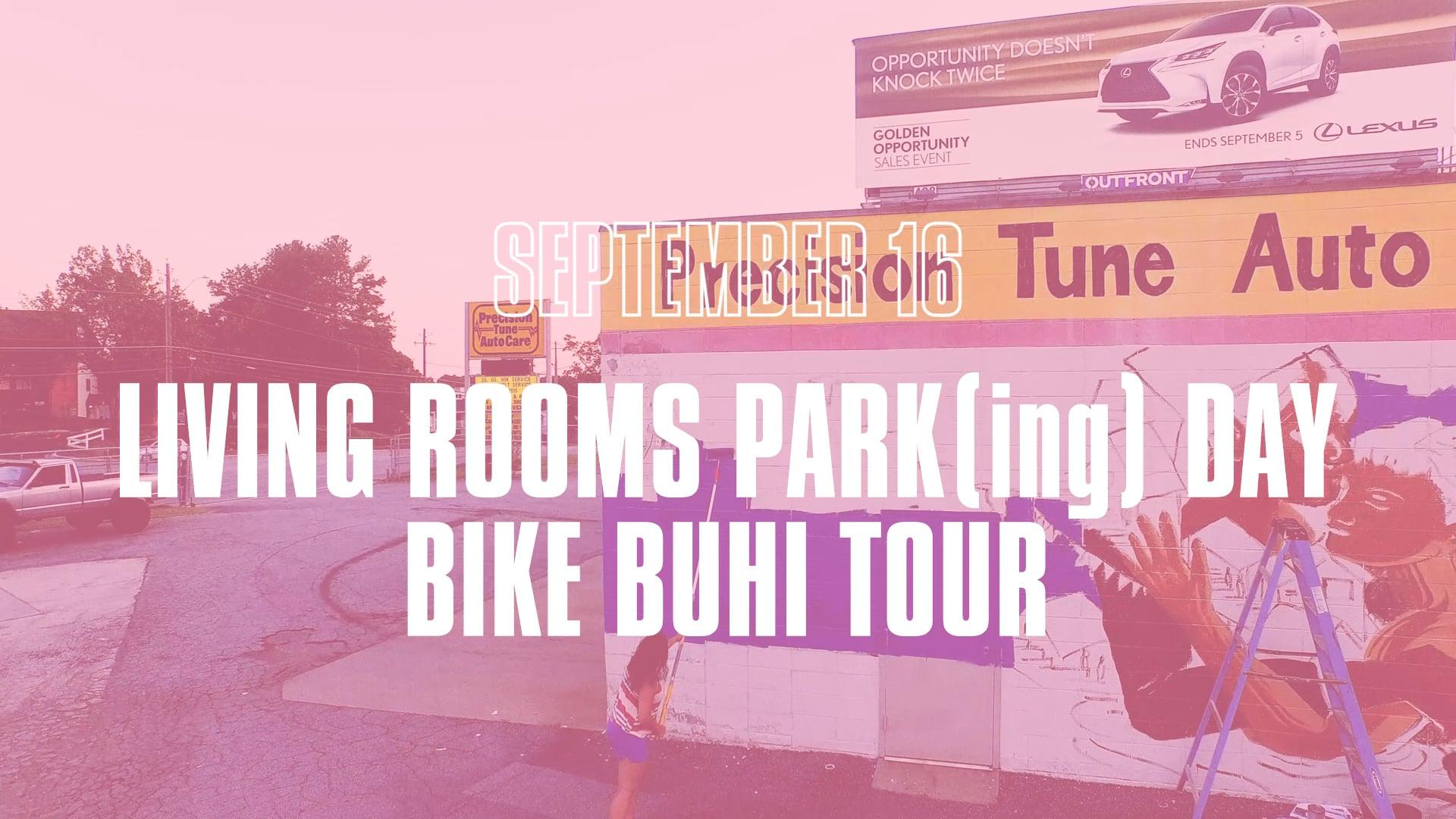 Living Walls & We Love BuHi 2017 Conference Promo Flyer