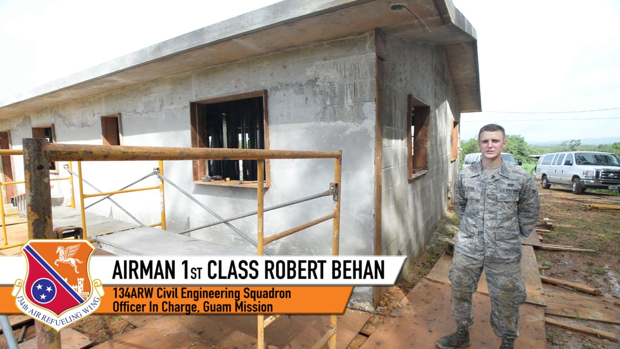 134th Civil Engineers in Guam