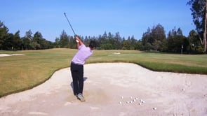 Hitting Out of a Fairway Bunker