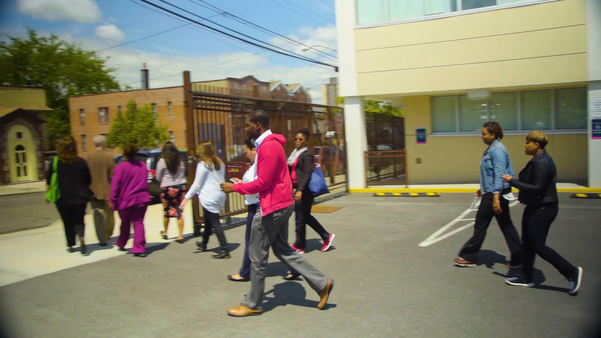 """Bodega Walk"" in for Bronx Community Health Network"