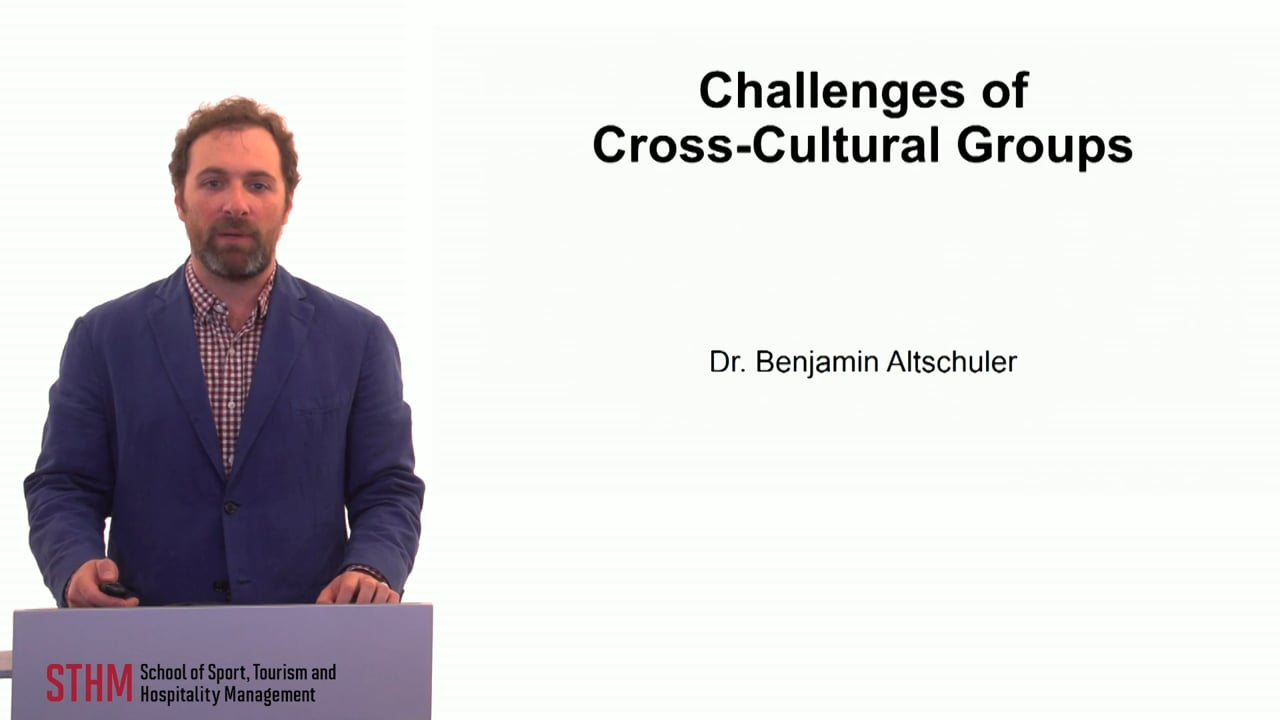 59889Challenges of Cross-Cultural Groups