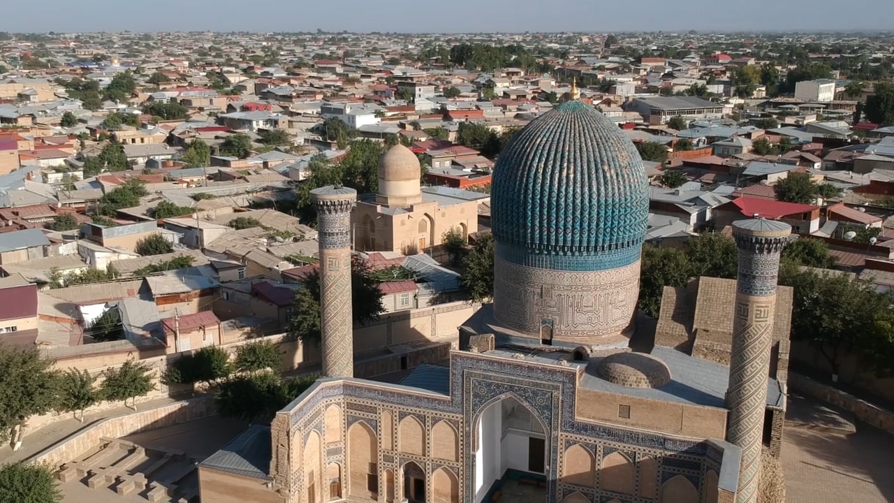 Embarquement: Ouzbékistan - Samarcande