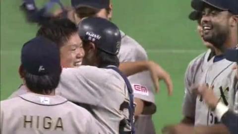 【9回裏】快挙!! バファローズ・西がノーヒットノーランを達成!! 2012/10/8 H-Bs