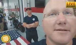 Local Firefighter is Collecting Trucks of Supplies, Won't Stop Now