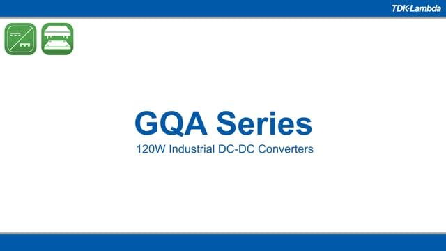 GQA 120W Industrial Quarter Brick Converters Video