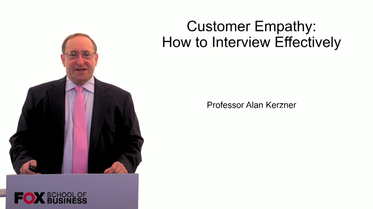 59932Customer Empathy: How to Interview Effectively