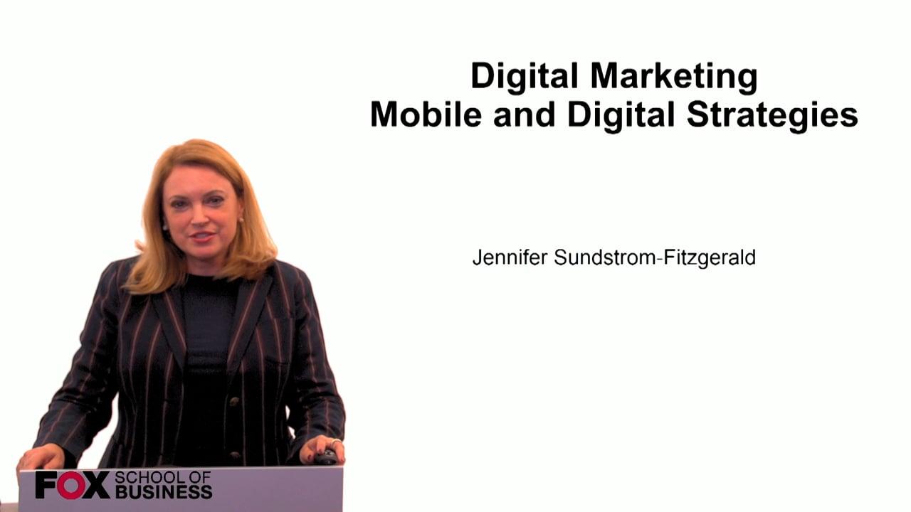 59935Digital Marketing Mobile and Digital Strategies