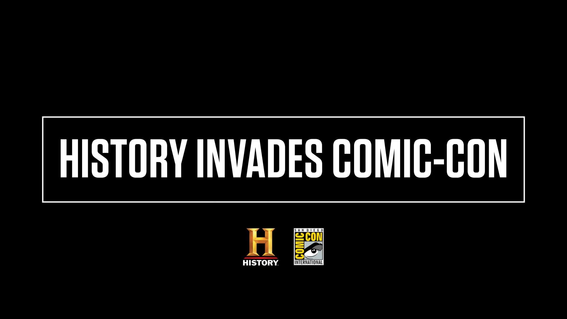 HISTORY INVADES COMIC-CON