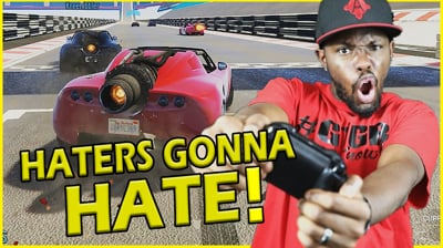 PROVING ALL THE HATERS WRONG ABOUT MY RACING SKILLS! - GTA 5 Race Series Ep.1