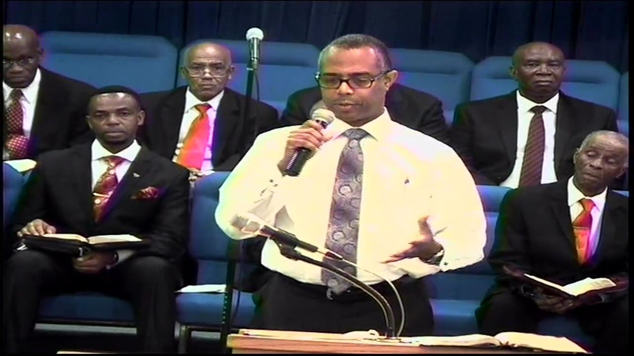 09-14-17, Pastor John-Mark Bartlett, Don't Leave Convocation Without Jesus