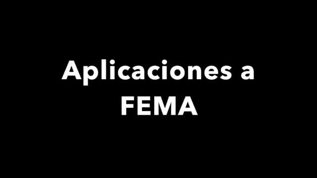 Disaster recovery: aplicaciones a FEMA  [espanol]
