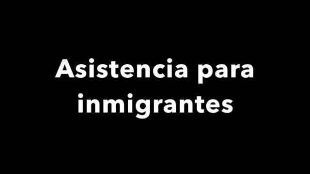 Disaster recovery: asistencia para inmigrantes  [espanol]