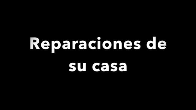 Disaster recovery: reparaciones de su casa  [espanol]