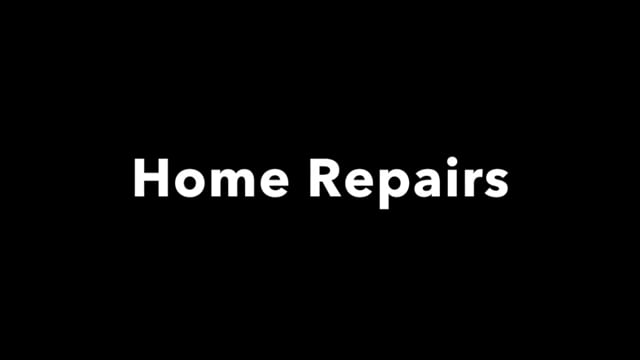 Disaster recovery: home repairs