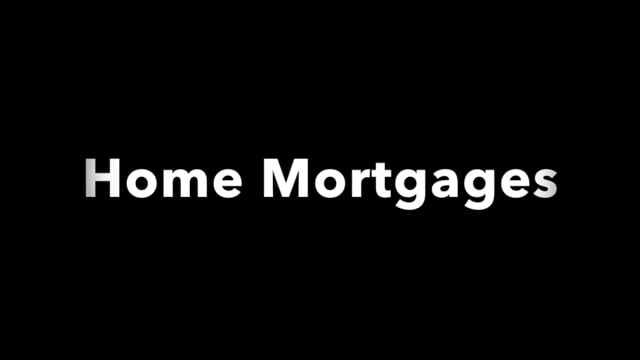 Disaster recovery: home mortgages