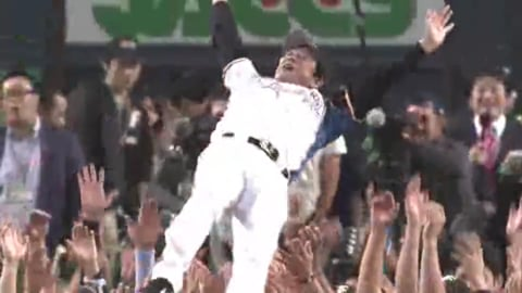 ファイターズが2012パ・リーグレギュラーシーズン制覇!! 2012/10/2