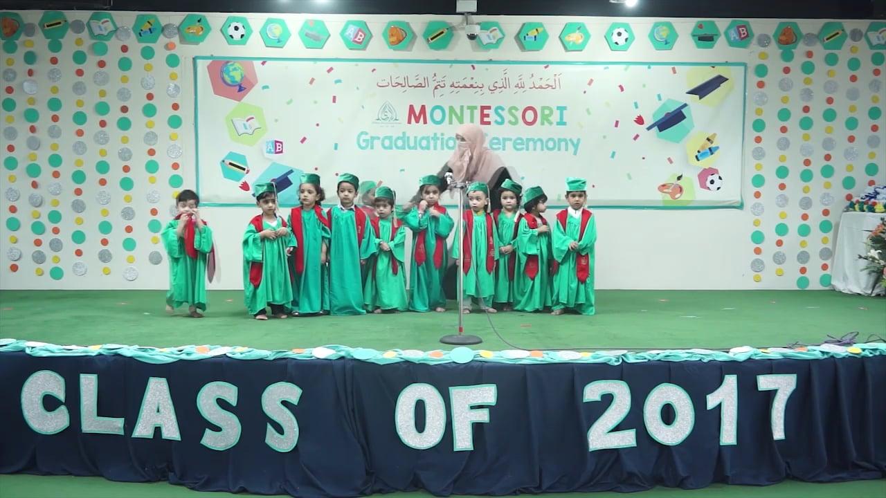 PreSchool and Montessori Graduation Ceremony 2017 (H-11 Campus)