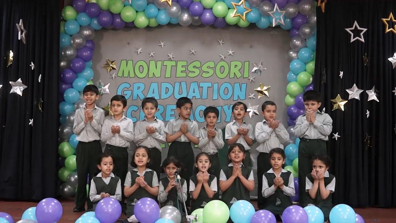PreSchool and Montessori Graduation Ceremony 2017 (F-8 Campus)