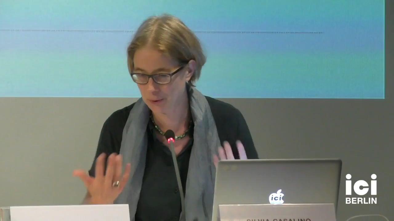 Talk by Hania Siebenpfeiffer (Panel III)