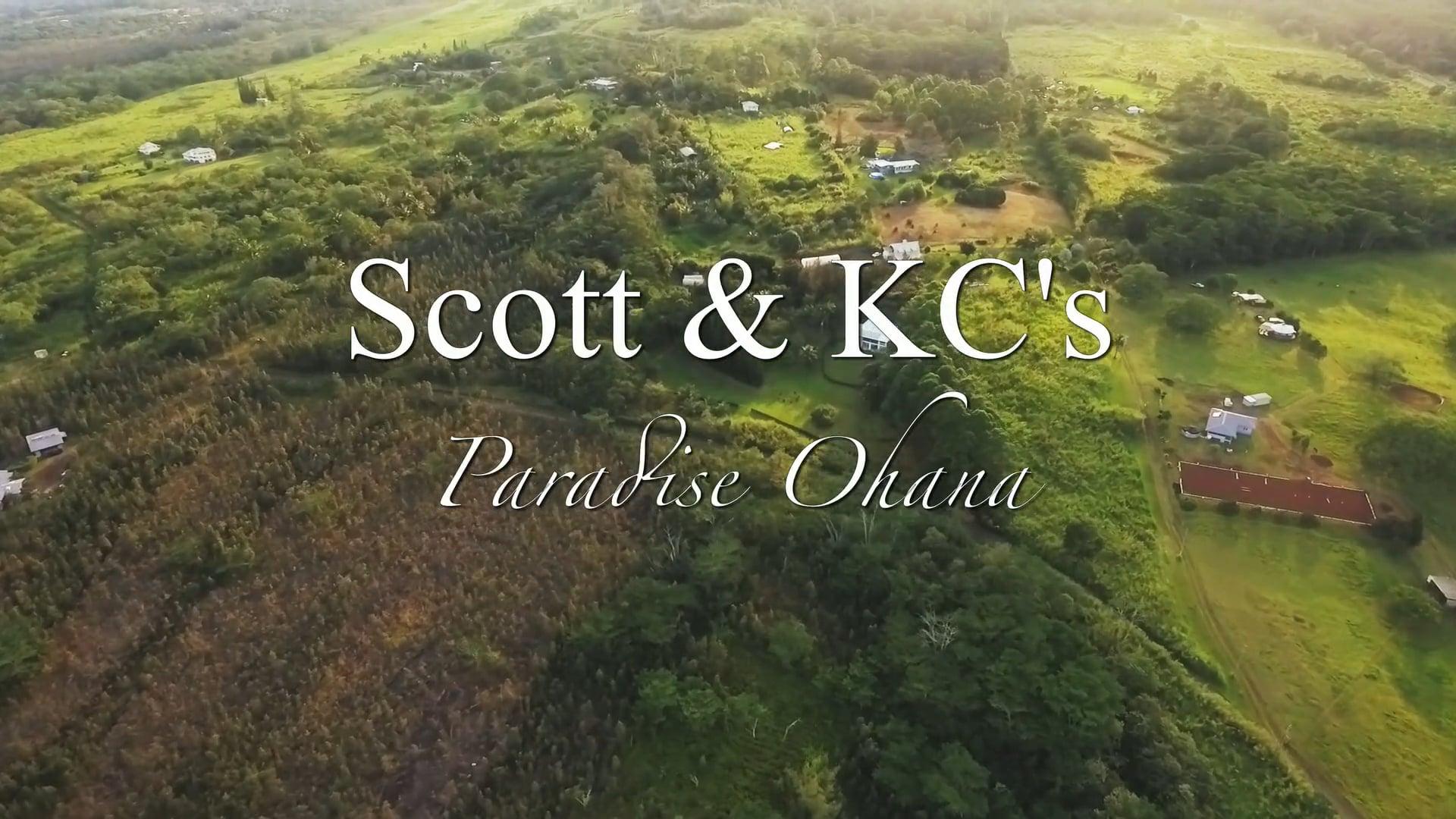 Scott & KC - Ohana in Paradise