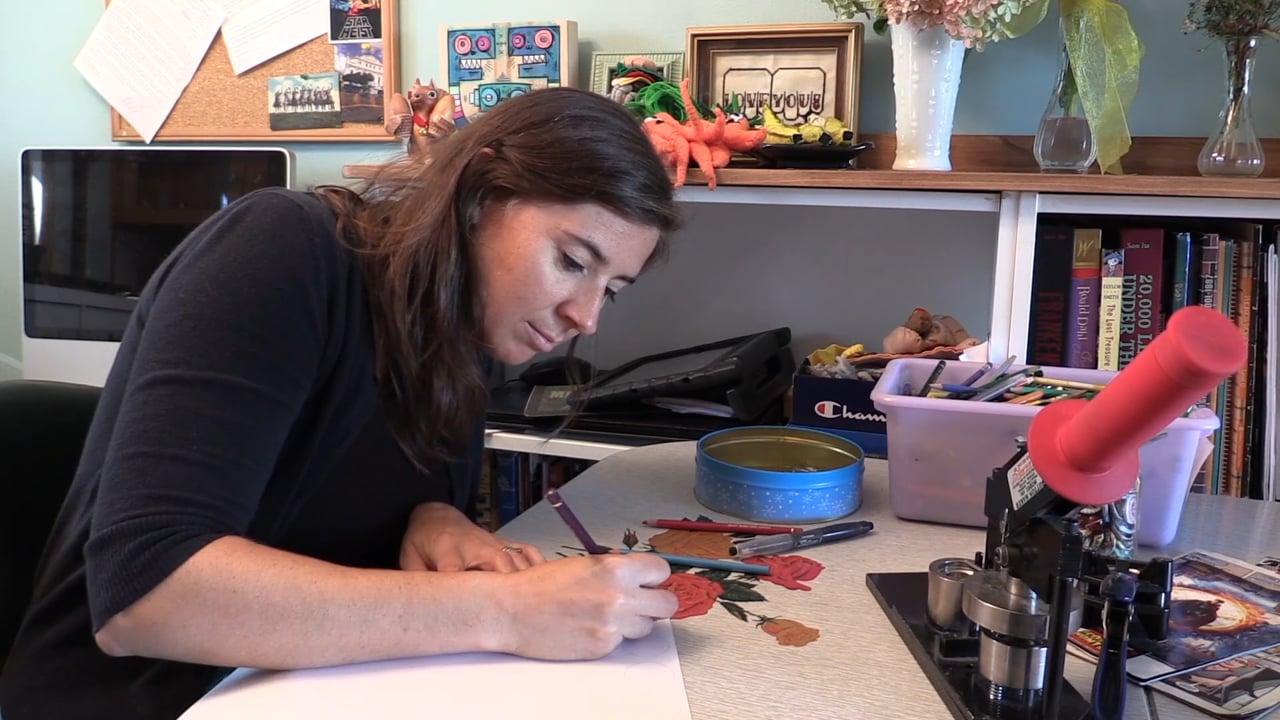 MAKER MAKER: DIY Buttons with Melissa Morris