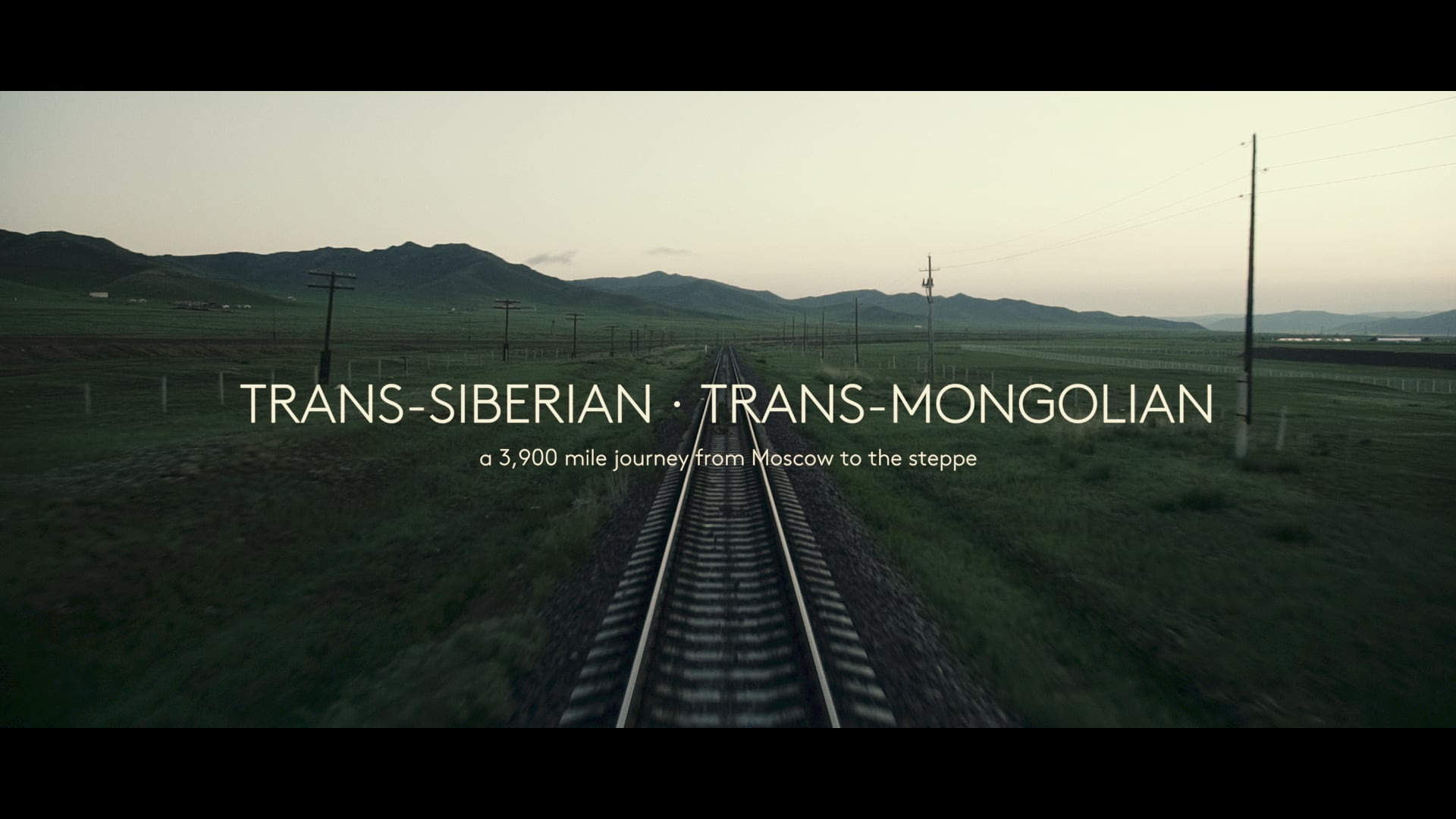 TRANS-SIBERIAN · TRANS-MONGOLIAN