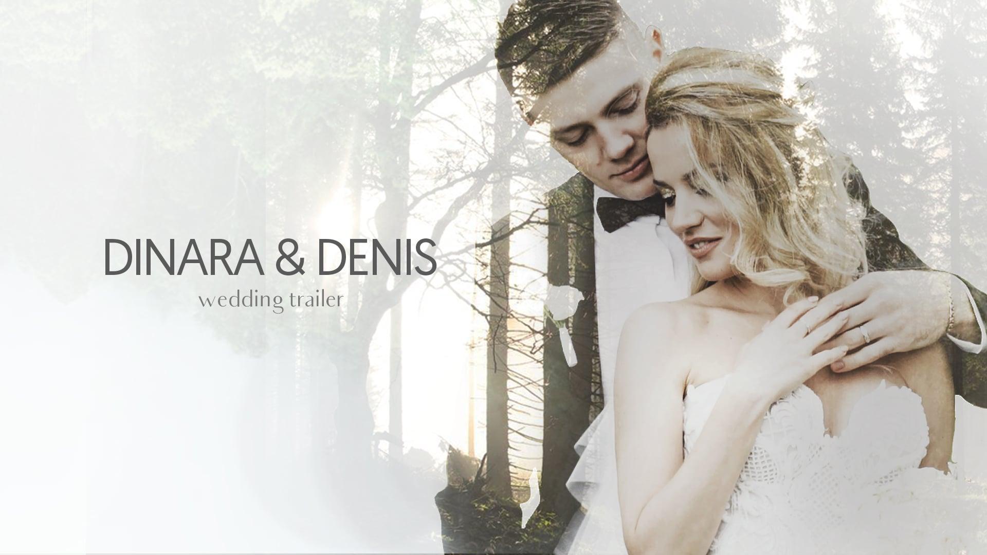 Dinara & Denis - Wedding Trailer [Moscow-Russia]