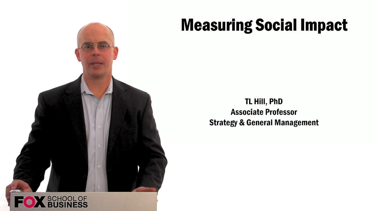 60006Measuring Social Impact