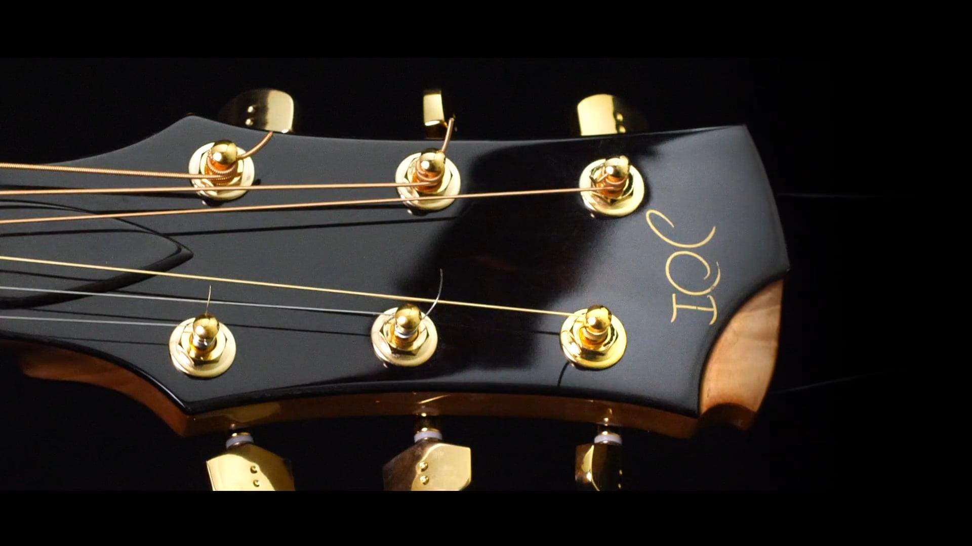 Harmonic Hendrix Home Finished Guitar